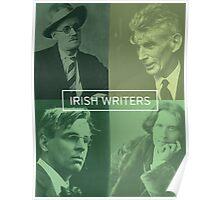 Irish Writers  Poster