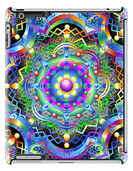 Mandala Psychedelic Art Design by BluedarkArt