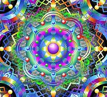Mandala Psychedelic Art Design by BluedarkArt