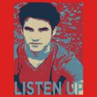 Darren Criss Listen Up Obama Hope by rachick123