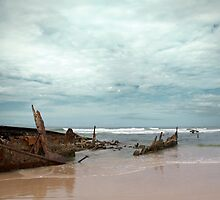 The Wreck of the Maheno by Linda Lees