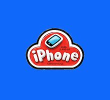 iPhone Play Doh (Blue Edition) by Jake Kesey