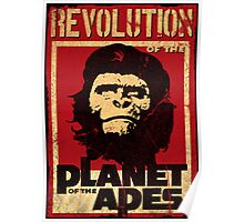 Revolution of the Planet of the Apes Poster
