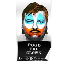 John Wayne Gacy a.k.a Pogo the Clown Poster