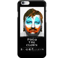 John Wayne Gacy a.k.a Pogo the Clown iPhone Case/Skin