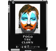 John Wayne Gacy a.k.a Pogo the Clown iPad Case/Skin