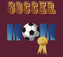Soccer Mom-gold ribbon by Lotacats