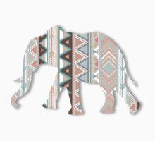 Tribal Elephant  Kids Clothes