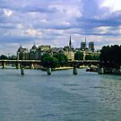 Clouds over the Seine by Priscilla Turner