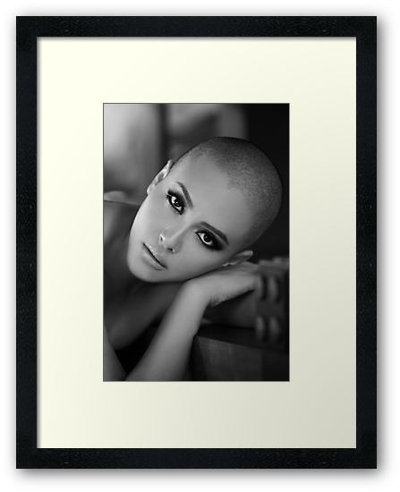 Bald girl by Dwayne Foong