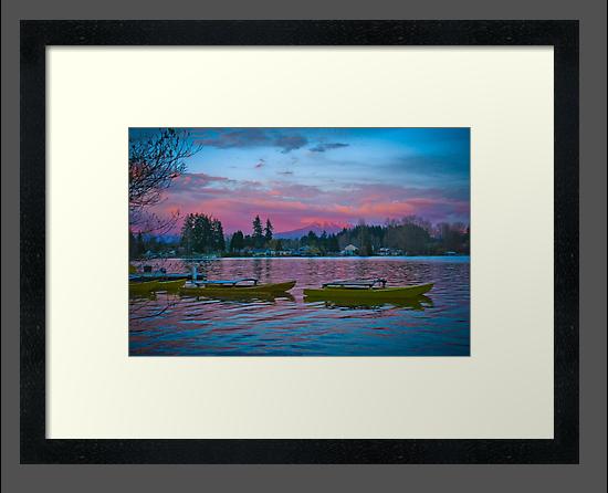 Sunrise Boats by Robert  Miner