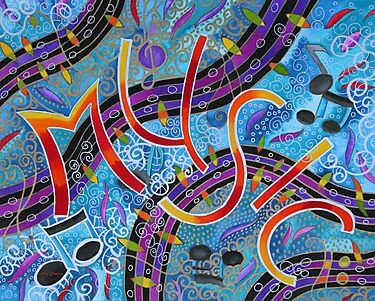Waves of Music by Nira Dabush