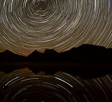 Cradle Mountain Star Trails by Doug Thost