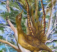 Lyre Bird by Kathryn von Lintzgy