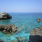 Coast at Mount Pelion Greece by Eleanor11