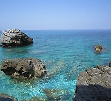 Coast at Mount Pelion Greece by Eleanor11
