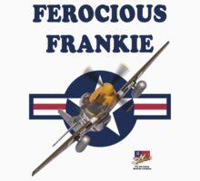Ferocious Frankie P51 Mustang Tee Shirt T-Shirt