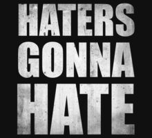 Haters Gonna Hate by BrightDesign