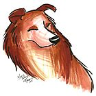 Brush Breeds-Rough Collie by Alexa H.J.