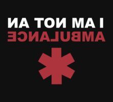 I Am Not An Ambulance by BrightDesign