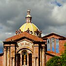 San Blas Church, Cuenca, Ecuador by Al Bourassa