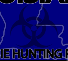 Louisiana Zombie Hunting License Sticker