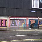 Happy Street Art by ravishlondon