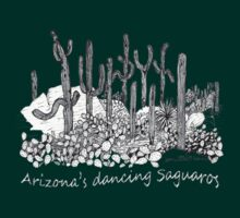 Dancing Saguaro Cactus by James Lewis Hamilton