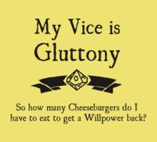 My Vice is Gluttony by Serenity373737