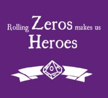World of Darkness - Zero Hero - For Dark Shirts by Serenity373737