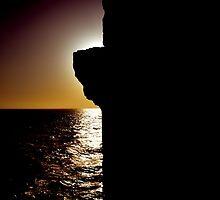 Black and Light Portovenere Ligurian Sea Italy  by ragman