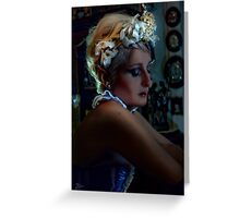 Bride Portrait Greeting Card
