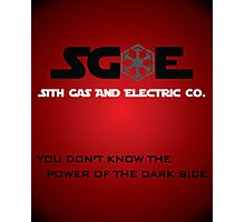 Sith Gas And Electric Co. Photographic Print