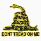 Don't Tread on Me - Gadsden Sticker by sturgils