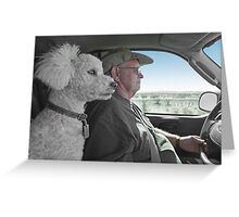 When You Drive, Keep Your Eyes On The Road Greeting Card