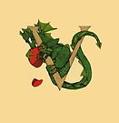 "Oscar and the Roses ""V"" (Illustrated Alphabet) by Donna Huntriss"