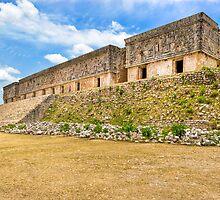 Palacio del Gobernador - Uxmal, Mexico by Mark Tisdale
