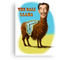 All hail the mysterious Dali Llama Canvas Print