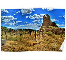 Sacred Burial Grounds Of Taos Pueblo Poster