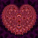 Crazy Love Fractal by printsbypixie