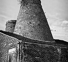 Sutherland Bottle Kilns 1 by David J Knight