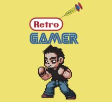 Retro Gamer Addict Kids Clothes