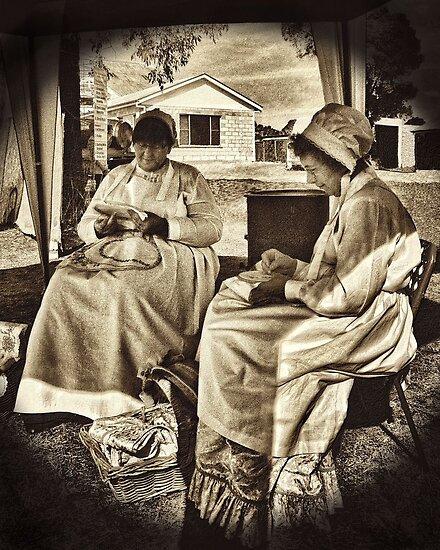 Crafty Ladies by George Petrovsky
