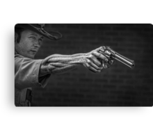 The Strong Arm Of The Law Canvas Print