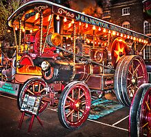 Steam Engine Berkshire England by mlphoto