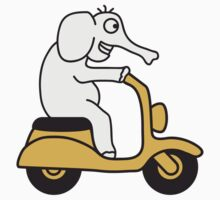 Moped Elephant by Style-O-Mat