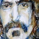 FRANK ZAPPA  watercolor portrait.3 by lautir