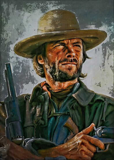 Clint Eastwood by andy551