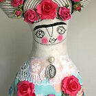Pink Frida by caracarmina