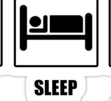 Eat Sleep Watch Doctor Who Sticker